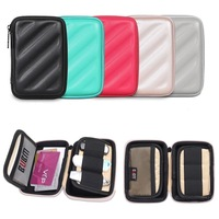 EVA S Anti-shock Strong Waterproof Protect Pouch Bag Cable Organizer Bag Case for USB Flash Drive