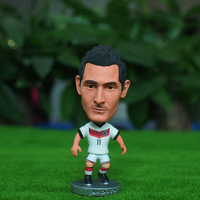 "Soccer 2014 world cup Germany Team 11# Miroslav klose 2.5"" Toy Doll Figure"
