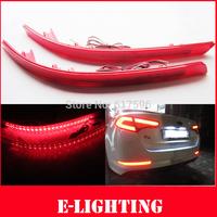 Red Lens 30-SMD LED Rear Bumper Reflector Light For 2011 2012 2013 Kia Optima K5