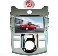 Factory wholesales:car dvd gps for KIA FORTE CERATO  +3G+rds+ freemap+A2DP+ STEERING WHEEL CONTROL+BLUETOOTH