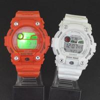 Women Men Colorful LED Electronic Multifunctional 30m Waterproof Swim Digital Rubber Wrist Watch 8951