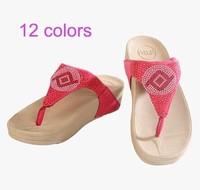 Latest women's sandals beach sandals women shoes casual slim women slippers size35-40 L022