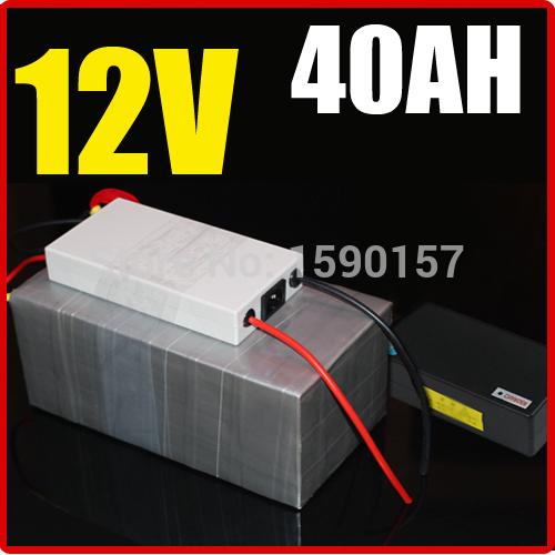 Батарея для электровелосипеда 12V 40AH , 500W Chargrer, RC e 12, 6 2015028