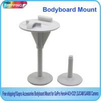 Free Shipping!!Gopro Accessories Bodyboard Mount for Gopro Hero4/3+/3/2/1,SJCAM SJ4000 SJ5000 Camera