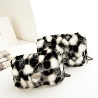 2014 Winter new Korean women shoulder bag plush bag chain bag bags imitation free shipping