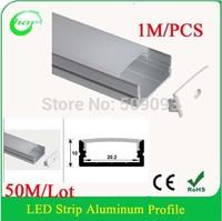 Hanks aluminum led strip light profile for stair lighting,milky cover Linear profile for step light 50M/Lot