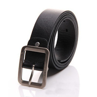 New Mens Waistband Business Casual Dress Luxury Leather Pin Buckle Belt