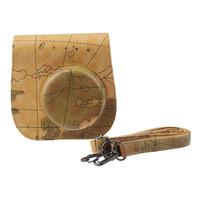 Classic Map PU Leather Camera Case Bag For FUJIFILM Instax Mini8 Mini8s