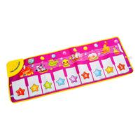 Touch Play Piano Keyboard Musical Music Singing Carpet Mat Kids Toy Gift