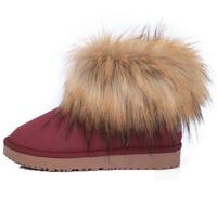 Women's Fox Fur winter Boots