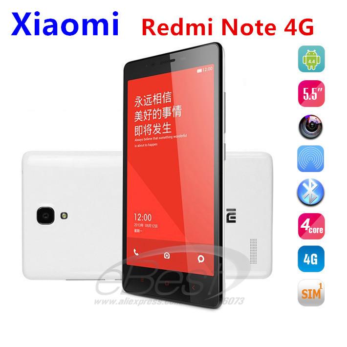 Мобильный телефон Xiaomi Hongmi Redmi 4G GPS android4.4 1,6 5.5 IPS 1280 X 720 3200mAh 13 FDD LTE Xiaomi Red Rice note 4G мобильный телефон meizu mx4 pro 4g 4g