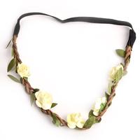 1pcs Festival Party Wedding Boho Style Floral Flower Women Girls Hairband Headband
