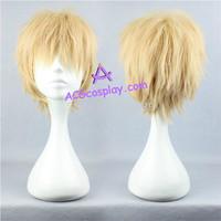 DRAMAtical Murder DMMD Noiz cosplay wig short wig yellow wig ACGcosplay