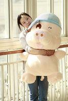 "Giant Big Fat 40""/101cm Pig Stuffed Plush Animal Cute New Toy & Free Shipping"