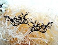 Fashion False eyelash stickers black paper cutting eye stickers eyeliner lk039 FREE SHIPPING