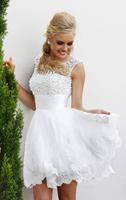 Top Sale white short wedding dresses the brides sexy lace wedding dress bridal gown plus size ivory vestido de noiva 2015