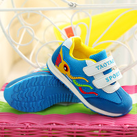 The boy girl elephant The spring and autumn period and the net surface boy casual shoes Children's sports shoes bag mail