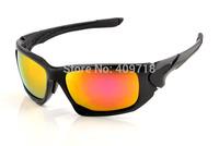 Fashion Sports Acetate Sunglass Designer Sunglass Men/Women's Brand Scalpel OO9095-05 Black Sunglass Fire Iridium Lens Polarized