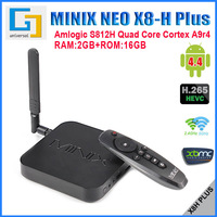 (Free M1 Air mouse} MINIX NEO X8H 16GB Plus Android TV Box Quad Core Amlogic S812H 2GHz 2G/16G 2.4G/5GHz WiFi 4K XBMC TV BOX