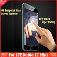 ZTE Nubia Z7 Mini Film Premium Tempered Glass Screen Phone For ZTE Nubia Z7 Mini Explosion Proof Clear 0.26mm Protective Film