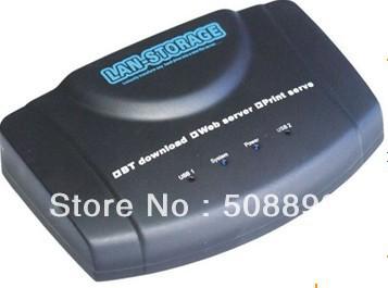 Freeshipping New Arrival LAN Storage NAS BT Wireless USB Print Server factory price&Dropshipping(China (Mainland))