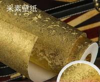 Gold foil wallpaper wallpaper decoration bar KTV background wall wallpaper wallpaper Arsi Kim ceiling