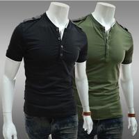 New 2014 fashion summer men t shirt short shirts army t-shirts fitness tops & tees outdoors men's clothing