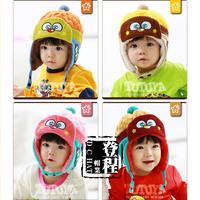 Free shipping,animal shape, Hats & Caps,cap child,hat baby, hat plus velvet comfortable thermal