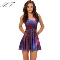 Women 2015 Bodycon Dress vestidos de fiesta Hot sale Print Starry Sky Sexy Women Dresses casual free shipping