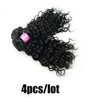virgin malaysian curly hair 4pcs lot,quality human hair cheap malaysian remy hair bundles,malaysian deep wave virgin hair