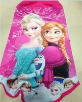 Muslim Headwear Free EMS Girls Frozen Muslim Hijab Girl Muslim Scarf Girl's Frozen Muslim Headscarf 100%Cotton 3D Printer Scarf