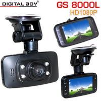 "Digital Boy 2.7"" Car Dvr GS8000L Full HD 1080P 140 degree Wide Angle Car Camera recorder With G-sensor Night Vision Digital Zoom"