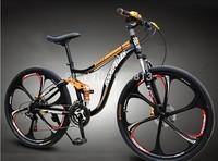 2014 New 26 inch mountain bike mountain bike bicycle alloy overflow fashion 26 aluminum New pattern