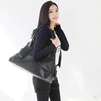 New 2014 Women Handbags of Famous Brands Pu Leather Handbag Vintage Shoulder Bags Large Capacity Fashion Free Shipping