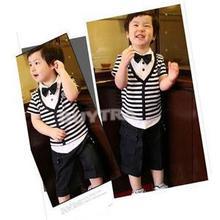 2015 New Arrival Cute Kids Boys Bow Tie Children Butterfly Type Necktie 1 Pcs 5 Colors