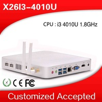 2014 new arrival!! XCY fanless i3 mini pc x26-i3 4010 network gaming pc support 4K full screen movies 2D games