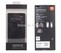 SALE !!! Original Lenovo K920 smart flip cover windows leather case protector free shipping black white