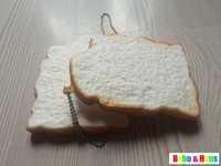 New arrive Cute Toast squishy charm / mobile phone strap Pendant / Wholesale