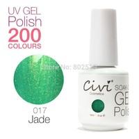Civi Nail Gel Soak off UV nail gel 30 days Long Lasting 200 Gorgeous Colors The Best Gel Polish Choose 5 Colors