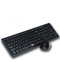 New brand wireless keyboard and mouse ultra-thin mute wireless keyboard 2015 support smart TV free shipping