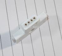 T-Shape 4 Pin White Plug Connector RGB LED Strip Connectors -500pcs