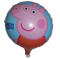Peppa Pig Foil Balloon Birthday Party Decoration Baby Kids Cartoon Balloons Gift 18""