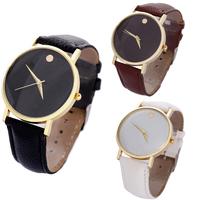 2014 Good quality Fashion Womens Retro Design Leather Band Dress watches Analog Alloy Quartz Wrist Watch WG#