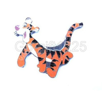20pcs tigger Metal Charms pendants DIY Jewellery Making crafts circular Free shipping