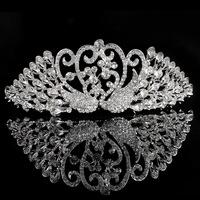 Rhinestone accessories The bride accessories hair accessory costume wedding dress formal dress crown 05