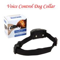 1PCS Digital Voice Control Pet No Barking Shock Training Collar Dog Training Anti Bark Collar For Dog With Retail Packing