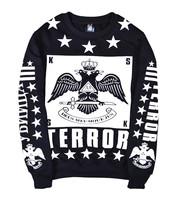 men autumn winter pullover hoodies print casual long sleeve sweatshirt hip hop tops clothing streetwear tracksuit B087