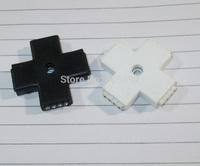 4 Pin Connector rgb + Shape Wireless Plug RGB LED Strip Connectors -  100pcs