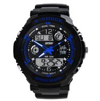 2015 Skmei 0931 Men Sports Military Watches Hot sale Male Brand boys Fashion Casual Wristwatches Men's Digital Man Watch (blue)