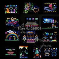 Boys and girls birthday gift educational toys for children creative plastic light